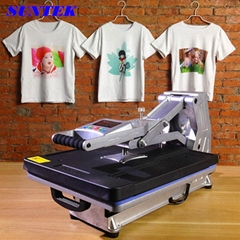 Drawer Type Hydraulic Heat Press Machine for T-Shirts