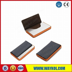 PU name card case for promotion