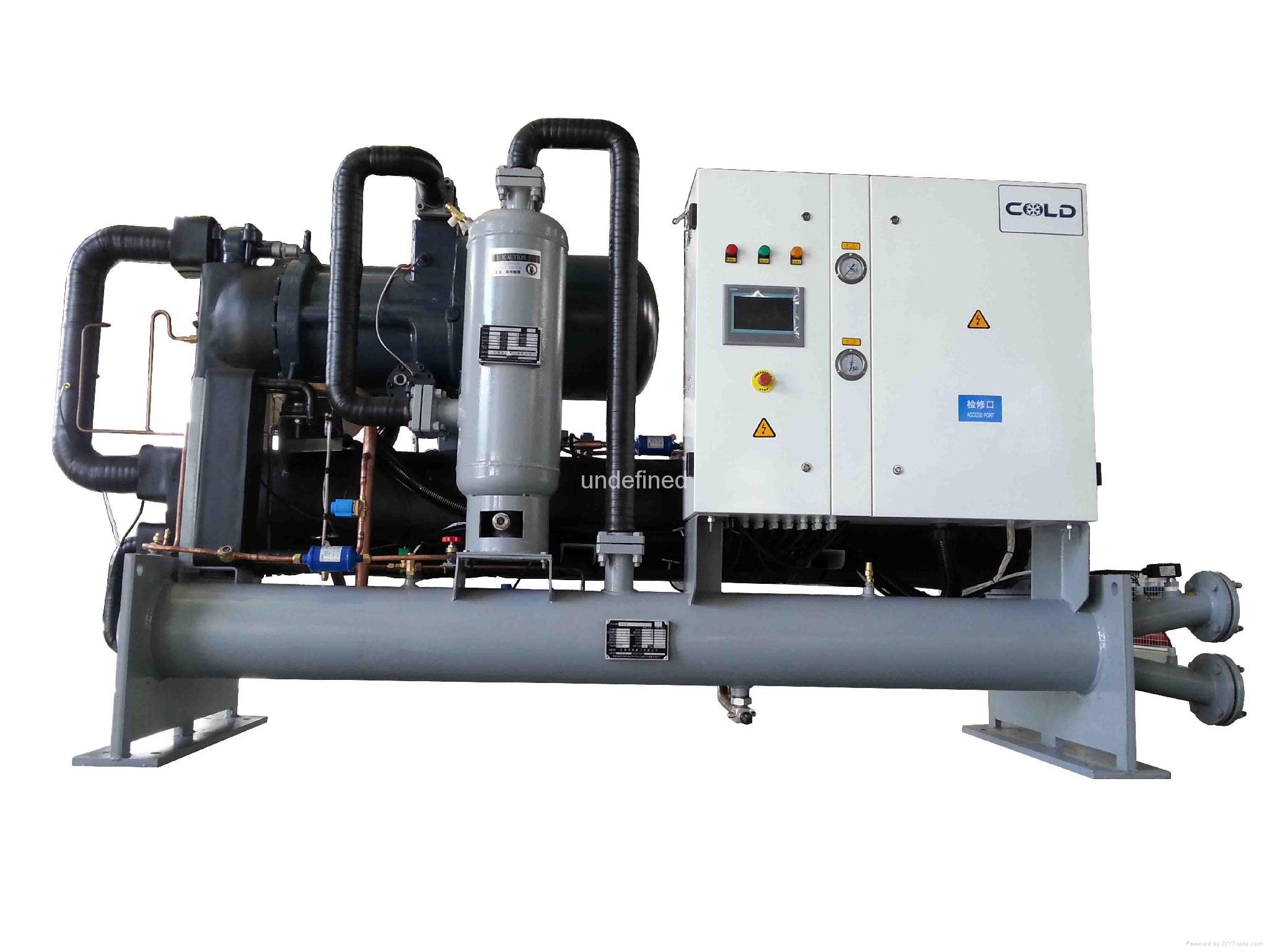 供应山东低温冷水机CDW-035WSTC(-5℃) 5