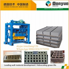 QT40-2 hydraulic adobe block making machine for sale