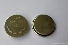 3.6V锂电池 医疗器械专用电池LIR2450扣式锂电池
