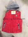 Boy and Girl's Down Vest-Wholesale Only
