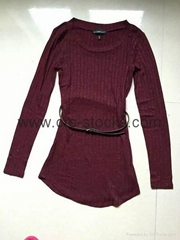 Ladie's Sweater Dress-Wholesale Only