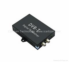 Dual Tuner Car DVB-T Digital TV Receiver