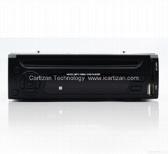 1 DIN Car DVD Receiver Player