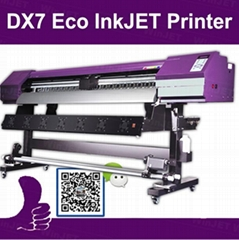 Eco solvent printing machine dx7/dx5 pint head