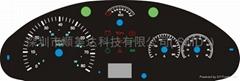 EL冷光片,EL冷光线,EL发光汽车仪表盘,EL冷光仪表盘