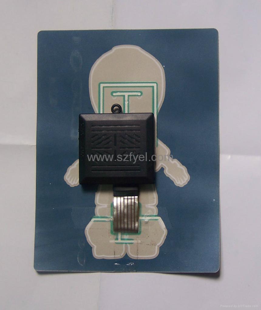 可充電式聲控發光衣服發光片 1