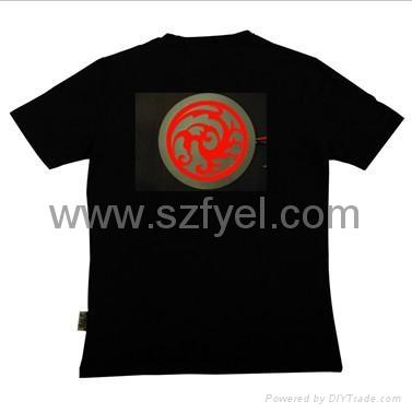 EL 闪烁T恤 1