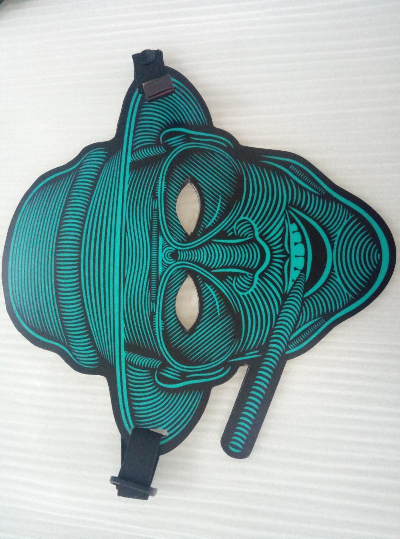 EL发光面具 冷光面具 圣诞节万圣节面具 8