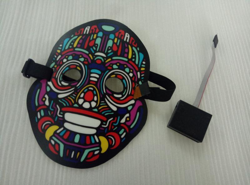 EL发光面具 冷光面具 圣诞节万圣节面具 9