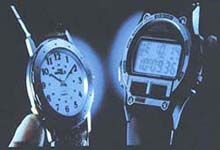 Back Light of Wristwatch