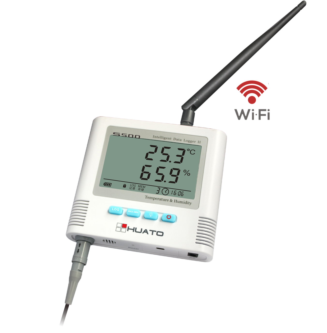 Wireless Temperature Logger : Wifi wireless temperature and humidity data logger s