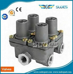 Quad Protection valve 0481062202 0481062203 0481062202 for benz truck
