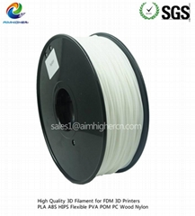Aimhigher Nylon(PA)printing filament White color 1.75/3.0mm consumables
