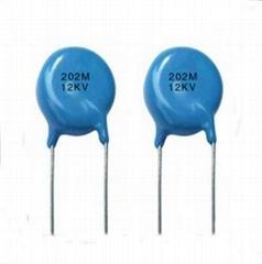 High voltage disc 103 ceramic capacitor 10KV 10mm