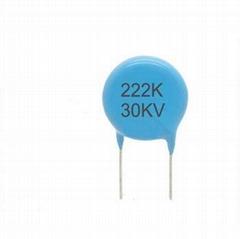 High Voltage Ceramic Disc Capacitors 222k 30kv
