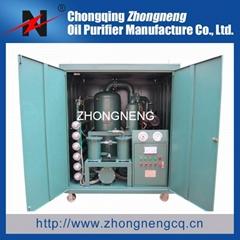 2015 Hotsale Multifunction High Vacuum Insulation Oil Purifier