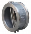 Wafer Type Dual Plate Swing Check Valve