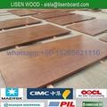 28mm Keruing marine container plywood floor board