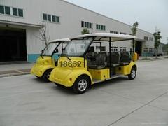 供应8座电动观光车