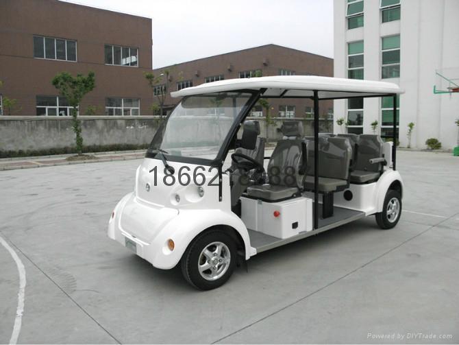 供應8座電動觀光車 3