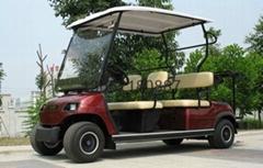 6座楼盘看房电动高尔夫球车