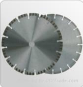 Diamond laser welded saw blade for concrete,asphalt
