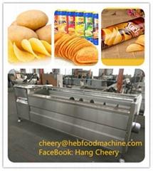 SH commercial cheap fresh potato chips making machine