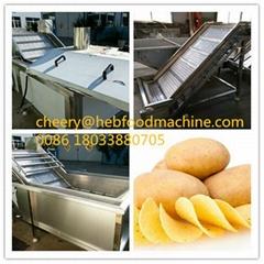 food factory supplier cheap fresh potato chips making machine