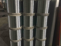stainless steel and galvanized wire used for making scourer