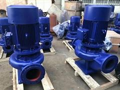 GDD立式低噪音低轉數管道泵