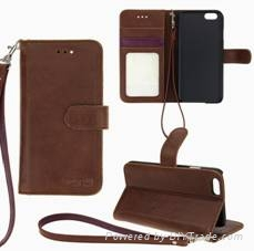 Leather case for iphone 6 4.7inch
