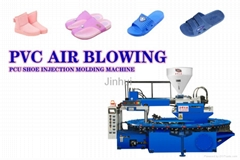 PVC Air Blowing Shoe Injection Molding Machine