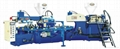 Rotary type Dual-color Plastic-rubber Sole Injection Moulding Machine