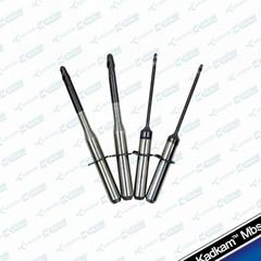 VHF dental milling burs CAD/CAM system tools