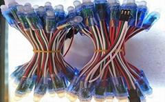 全彩LED外露发光字穿孔灯串