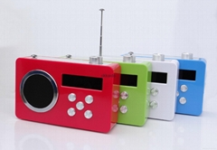 Hot sale good quality clock control radio