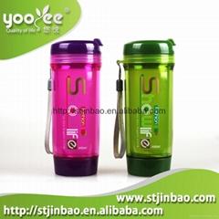 Plastic kids water bottle