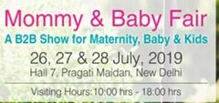 2019年7月印度新德里孕嬰童用品展