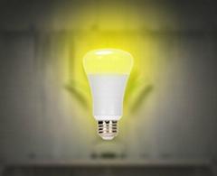 手機音樂藍牙七彩調光分組遙控LED球泡燈