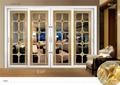 80-75 Series Aluminum Sliding Interior Door with Double Glazing for Villa