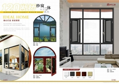 Italy 55 Series Thermal Break Alumium Casement Window