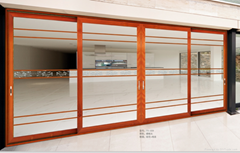 wood composite Thermal Break Alumium Casement Window