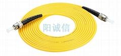 阳诚信ST-ST单芯单模电信级光纤跳线