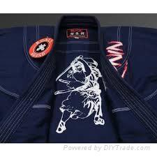 100% cotton fabric pearl weave white jiu jitsu kimono uniform japanese kimono un