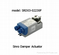 Actuator Products Electric Actuated Flaned End