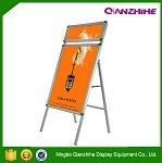 walking advertising board sigle side pavement sign Poster Advertising Board,a bo