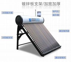 德诺(denosolar)彩钢太阳能热水器---黑色