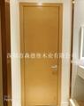 賓館酒店用橫紋木皮烤漆門 2